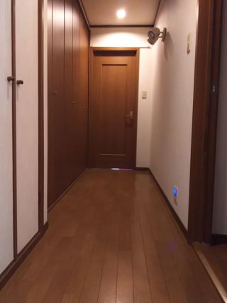 1Fの廊下の突き当たり